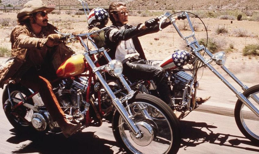 "essay on the movie easy rider Free essay: analysis of dennis hopper's easy rider the movie ""easy rider"" revolves around two bikers making a trip from los angeles to new orleans, to attend."